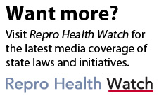 Read more at Repro Health Watch.org